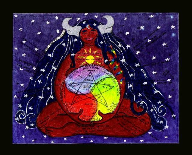 The Goddess Year, image by Shekhinah at shekhinah.net